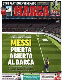 capa Jornal Marca de 27 fevereiro 2021