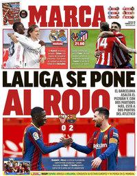 capa Jornal Marca de 28 fevereiro 2021