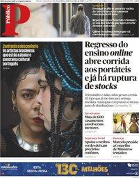 capa Público de 5 fevereiro 2021