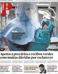 capa Público de 7 fevereiro 2021