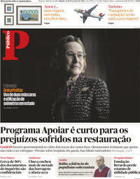 capa Público de 13 fevereiro 2021