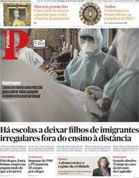 capa Público de 14 fevereiro 2021