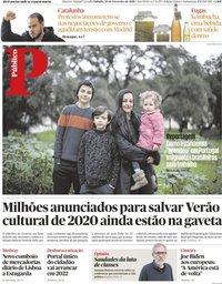 capa Público de 20 fevereiro 2021