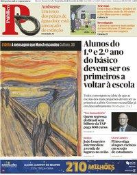 capa Público de 23 fevereiro 2021