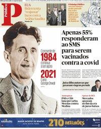 capa Público de 26 fevereiro 2021