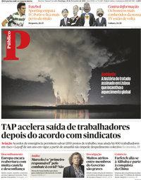 capa Público de 28 fevereiro 2021