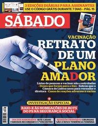 capa Revista Sábado de 11 fevereiro 2021