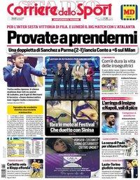 capa de Corriere dello Sport