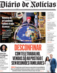 capa Diário de Notícias de 9 março 2021