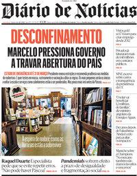 capa Diário de Notícias de 11 março 2021
