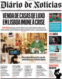 capa Diário de Notícias de 14 março 2021