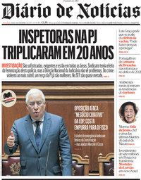 capa Diário de Notícias de 18 março 2021