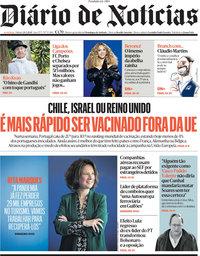 capa Diário de Notícias de 20 março 2021