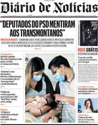 capa Diário de Notícias de 21 março 2021