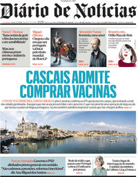 capa Diário de Notícias de 27 março 2021
