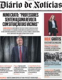 capa Diário de Notícias de 28 março 2021