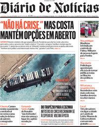 capa Diário de Notícias de 30 março 2021