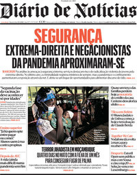 capa Diário de Notícias de 31 março 2021