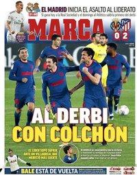 capa Jornal Marca de 1 março 2021