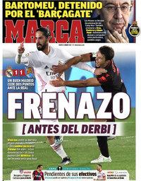 capa Jornal Marca de 2 março 2021