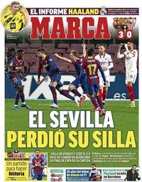 capa Jornal Marca de 4 março 2021