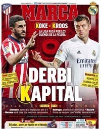 capa Jornal Marca de 6 março 2021