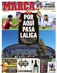 capa Jornal Marca de 7 março 2021