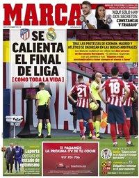 capa Jornal Marca de 9 março 2021