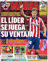 capa Jornal Marca de 10 março 2021