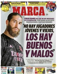 capa Jornal Marca de 12 março 2021
