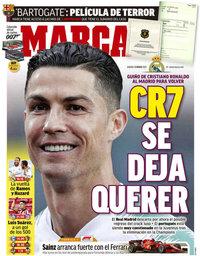 capa Jornal Marca de 13 março 2021