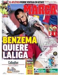 capa Jornal Marca de 14 março 2021