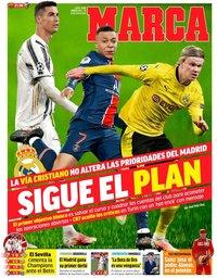 capa Jornal Marca de 15 março 2021