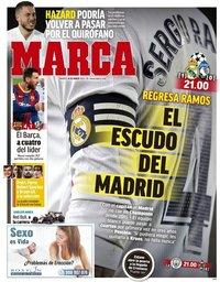 capa Jornal Marca de 16 março 2021