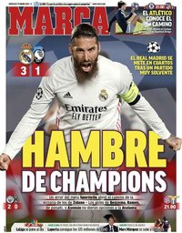 capa Jornal Marca de 17 março 2021