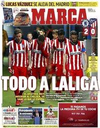 capa Jornal Marca de 18 março 2021