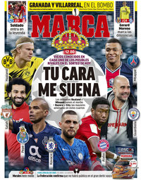 capa Jornal Marca de 19 março 2021
