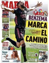capa Jornal Marca de 21 março 2021