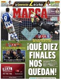 capa Jornal Marca de 22 março 2021