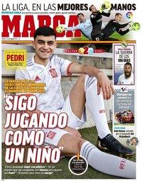 capa Jornal Marca de 23 março 2021