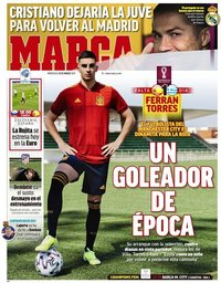 capa Jornal Marca de 24 março 2021