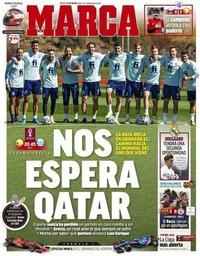 capa Jornal Marca de 25 março 2021