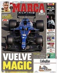 capa Jornal Marca de 28 março 2021