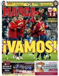 capa Jornal Marca de 29 março 2021
