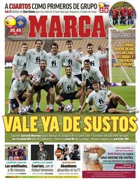 capa Jornal Marca de 31 março 2021