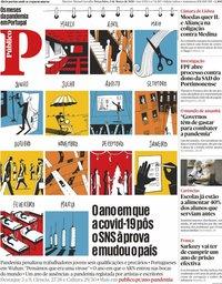 capa Público de 2 março 2021
