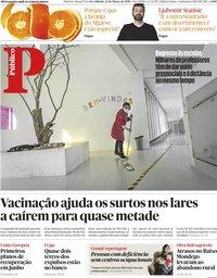 capa Público de 13 março 2021