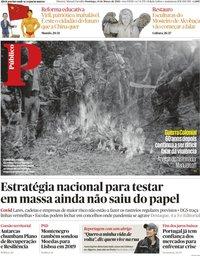 capa Público de 14 março 2021
