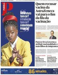 capa Público de 19 março 2021