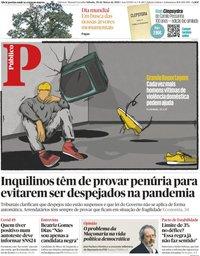 capa Público de 20 março 2021